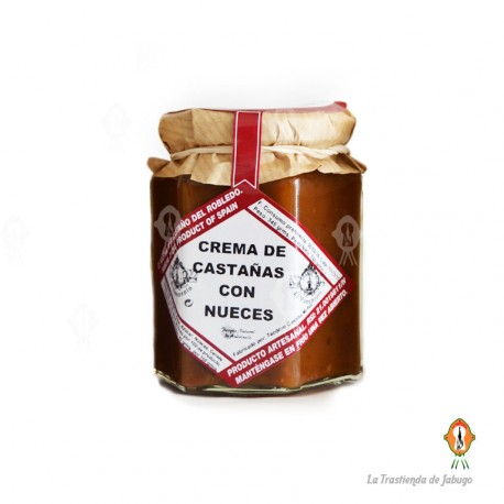 Crema de Castañas con nueces
