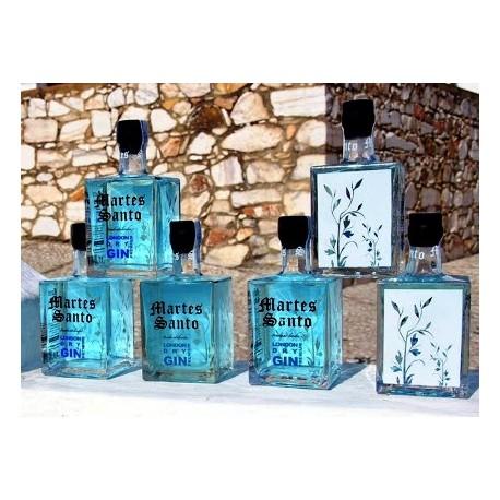 "Ginebra ""Marte santo"" Tridestilada London Gin Premium Flor De Iris"