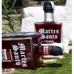 "RED FRUIT TRIDESTILATED GIN ""MARTES SANTO"""