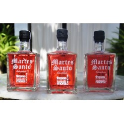 "RED FRUITS  DOUBLE-DISTILLED GIN PREMIUM ""MARTES SANTO"""
