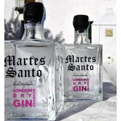 """Ginebra """"martes santo"""" Bidestilada London Gin Premium"""