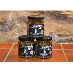 Mezcla de setas en aceite de oliva