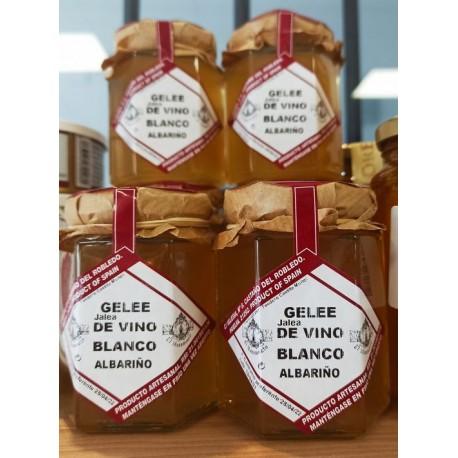 GELÉE-JALEA DE VINO BLANCO DE ALBARIÑO.